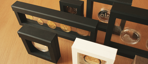 Coin case frame V19